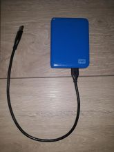 EXTERNÍ HDD DISK WESTERN DIGITAL MY PASSPORT; 500 GB; USB 3.0