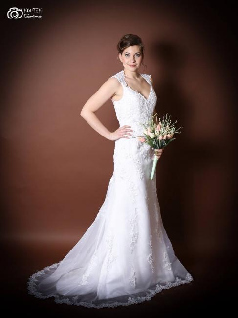 nabízí Petronella Petronella Svatební šaty Adelaine f38c7fe056