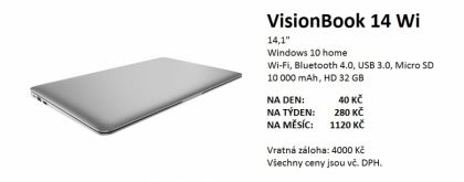 Notebook Visionbook 14wi